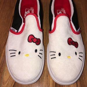 Hello Kitty 40th Anniversary Vans Slip-ons!!!